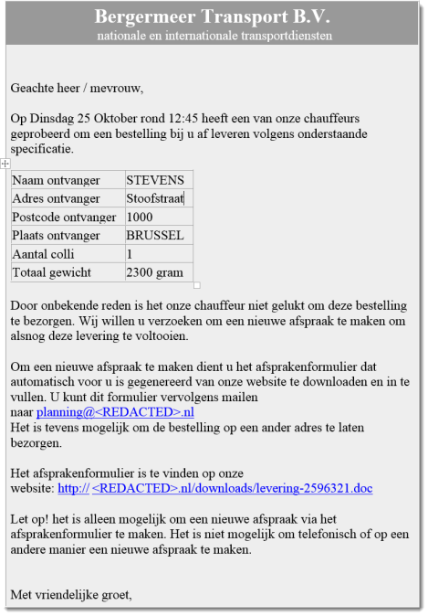 Malicious Document Targets Belgian Users – NVISO Labs