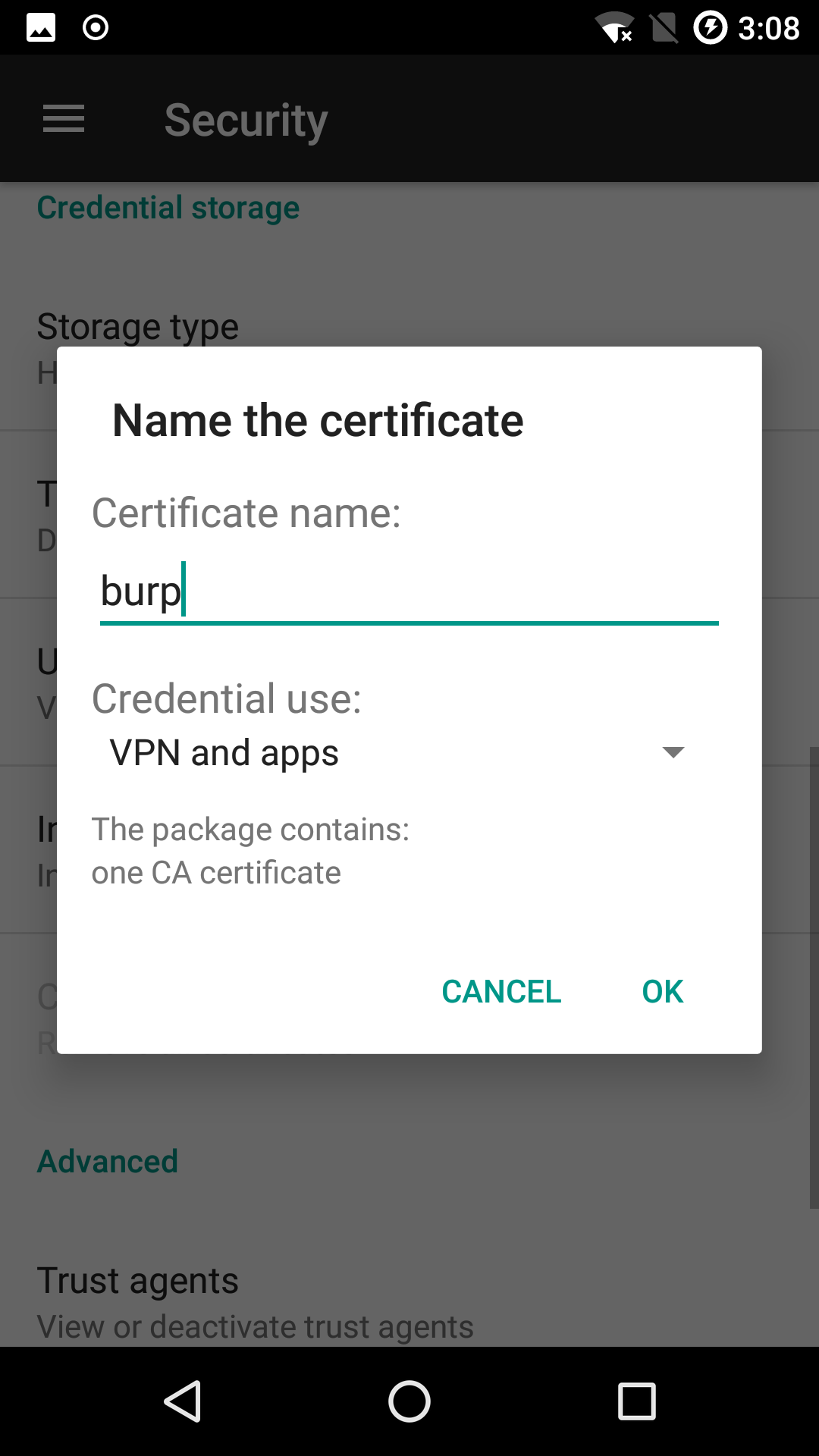 Intercepting Https Traffic From Apps On Android 7 Using Magisk